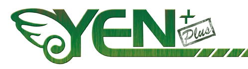 The green Yen Plus logo. It's nice.