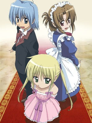 Hayate Ayasaki, Nagi Sanzen'in and Maria from Hayate no Gotoku.